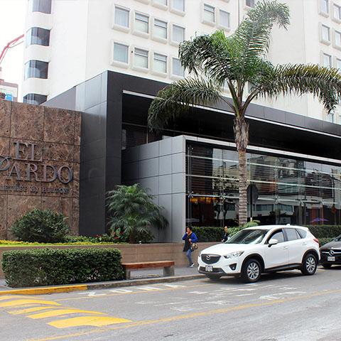 Hotel Double Tree El Pardo Remodelacion Fachada